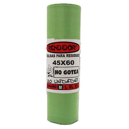 Bolsas de Consorcio Reforzadas 45 x 60 cm x 20 unid. Verdes